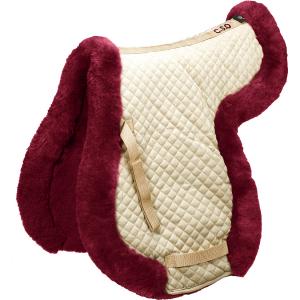 C.S.O. Real sheepskin saddle cloth