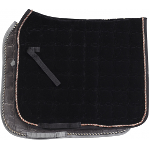 Equi-Thème dressage velvet saddle cloth