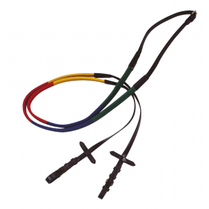 Apollo Training rubber covered reins