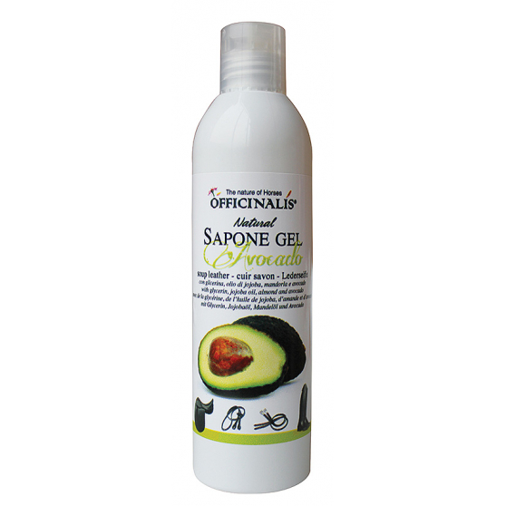 Savon gel pour cuirs Officinalis Avocado - étape 1