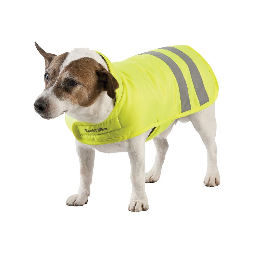 Couverture equith me visibilit pour chien gamme fluo padd - Couverture pour petit chien ...