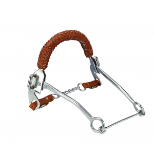 Hackamore Bit with braided...