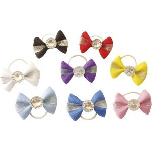 """EQUITHÈME """"Cristal rond"""" bows"""
