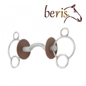 "3- rings bit ""Beris"" with tongue port snaffle"