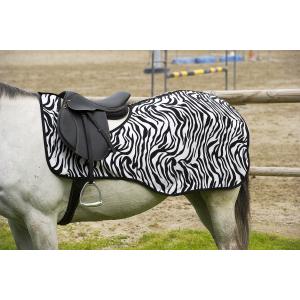 "EQUITHÈME ""Zebra"" Polarfleece Nierendecke"