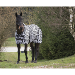 "EQUITHÈME ""Zebra"" mesh deken"