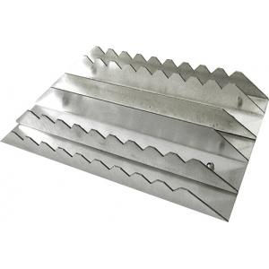 Rechteckiger Aluminiumstriegel