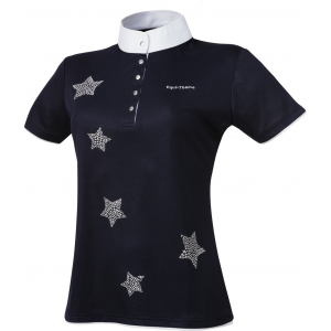 EQUITHÈME Etoiles shirt, short sleeves