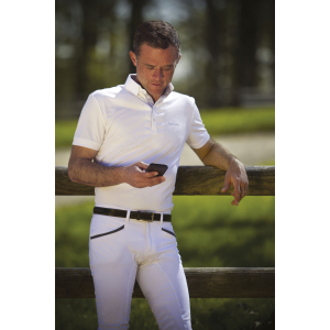 Polo EQUITHÈME Mesh - Homme