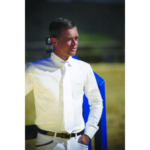 EQUITHÈME katoenen shirt, lange mouwen