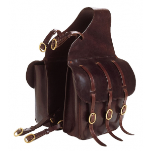 Double saddle panniers