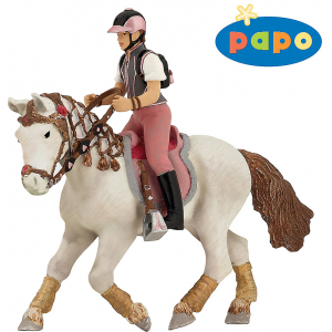 PAPO Young trendy riding girl