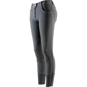 Pantalon EQUITHÈME Button - Femme