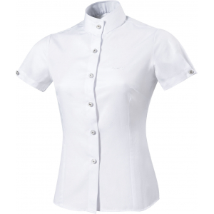 "Equit'M ""Plissée"" competition shirt, short sleeves"