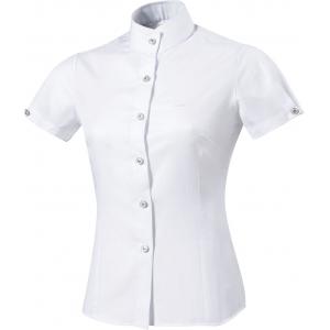 """Equit'M """"Plissée"""" competition shirt, short sleeves"""