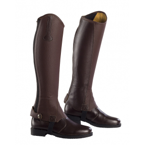 "NORTON ""Leather/synthetic"" half chaps"