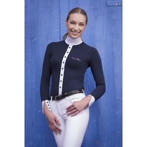Polo de concours EQUITHEME Silver - Femme