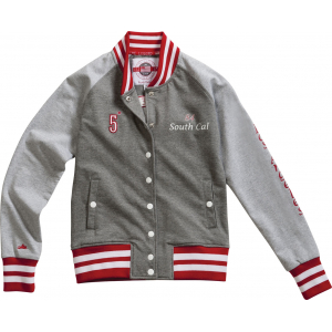 """EQUITHÈME """"CSI 5*"""" varsity letterman jacket"""