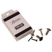 Nut Bates Saddle : 2 Gullet Screws NEW : Genuine Wintec Washer Set
