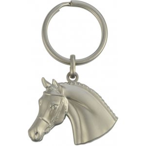 3D Keyring Horse Head with Bridle