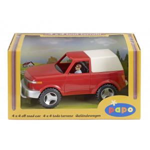 4X4 tout terrain et son conducteur Papo