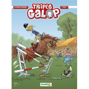 Triple Galop : Bande Dessinée