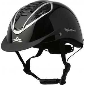 EQUITHÈME Chrome helmet