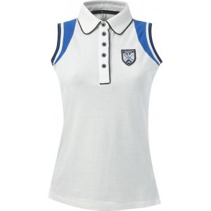 EQUITHÈME Polo shirt van fijne pique katoen - Dames