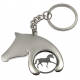 Horse head trolley coin/key-ring