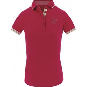 EQUITHEME Jersey Polo Shirt, kurze Ärmel - Dames