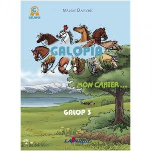 Galopia, Mon cahier - Le journal de mon 3ème galop