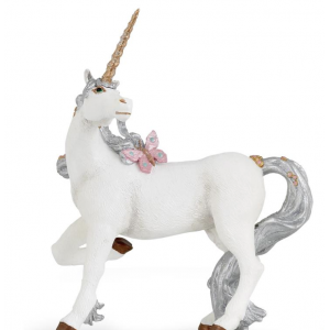 Licorne argentée Papo