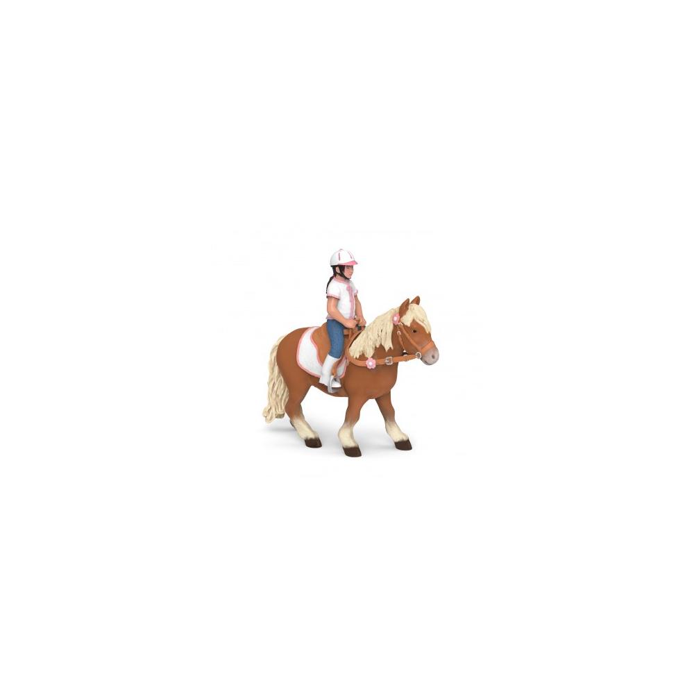 Enfant cavalière Papo
