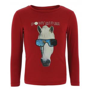 EQUI-KIDS T-shirt Pony Rider mit hologramm-jungen
