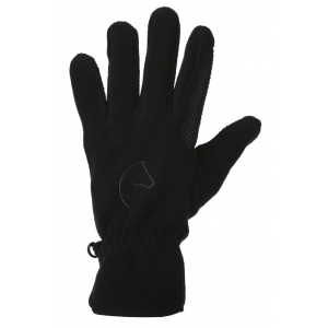 EQUITHÈME Picot fleece gloves