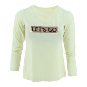 T-shirt à sequins EQUITHÈME - Femme