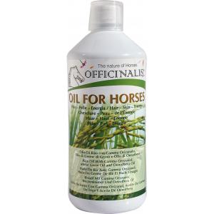 Aliment complémentaire Officinalis Oil for horses/ Huile pour chevaux