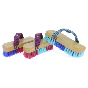 Brosse douce Hippo-Tonic Magnet Brush bicolore