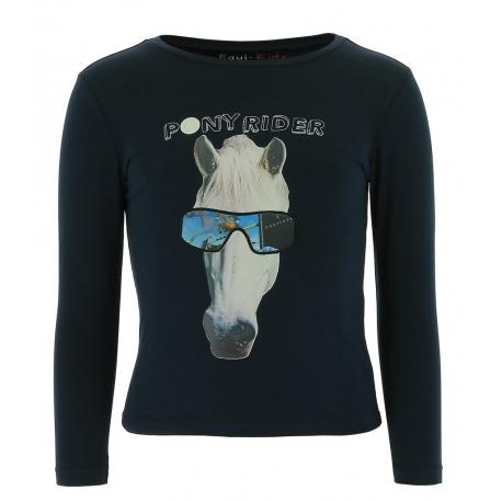 Equi Kids Pony Rider T shirt mit Gründen Kinder