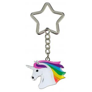 Keychain Unicorn's head