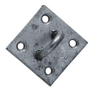 Galvanised attachment plate