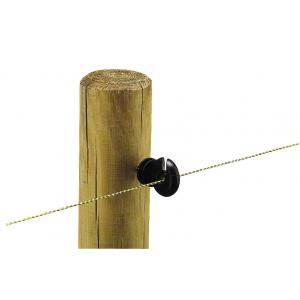 Black Eco screw insulator