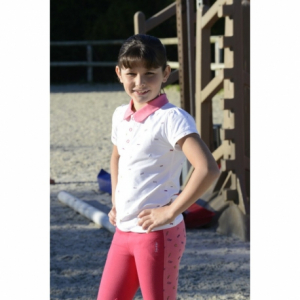 Equi-Kids Love polo shirt