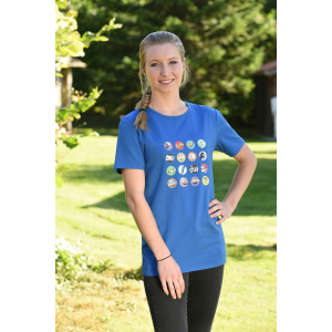EQUITHÈME Comic T-shirt - Ladies