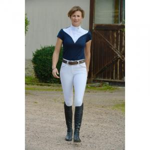 Polo de concours Pénélope Las Vegas manches courtes - Femme