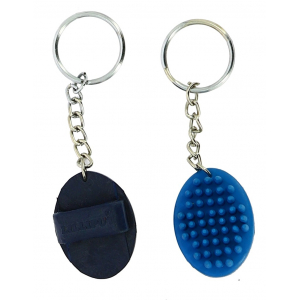 Curry comb keychain