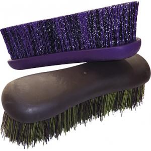 Hippo-Tonic Softgrip nylon Dandy brush, small