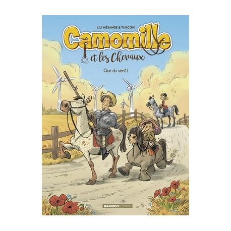 Camomille, Tome 7 : Que du vent