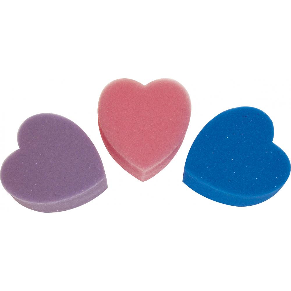 Éponge Hippo-Tonic forme cœur