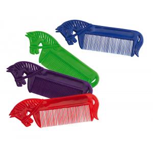 PVC-Mähnenkamm mit Pferdekopf
